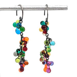 Load image into Gallery viewer, Esther Cluster Earrings