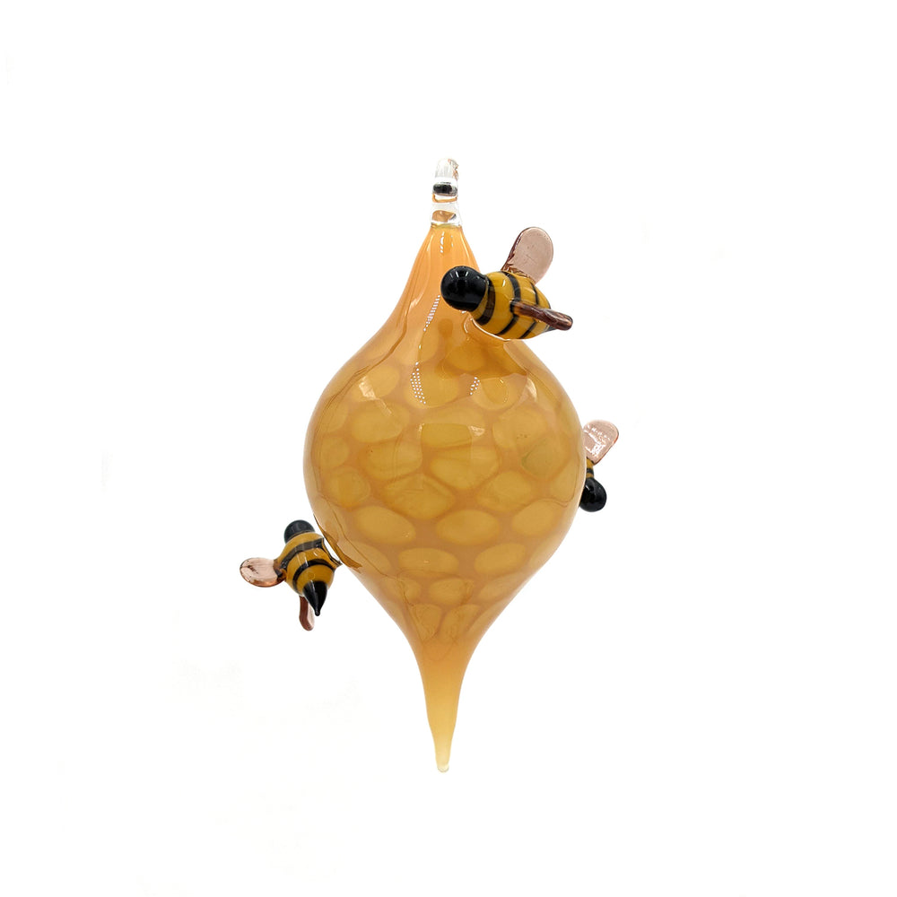 Honeycomb Bee Ornament