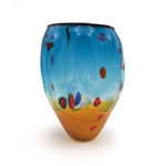 Landscape Vase by Seattle Glassblowing Studio