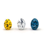 Speckled Glass Egg