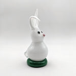 Bunny with Green Stand