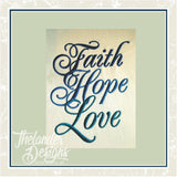 GG1274 Faith Love Hope
