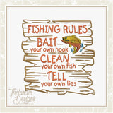 GG1507 Fishing Rules