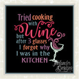 T1141 Cooking with Wine