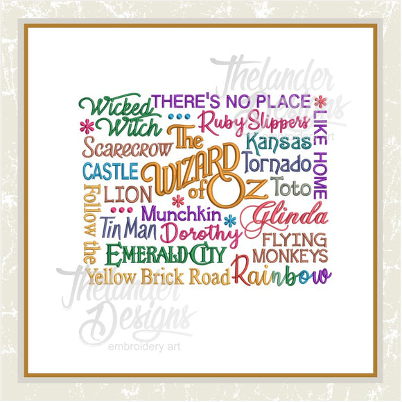 T1274 Dreams Word Art