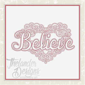 T1300 Believe Heart