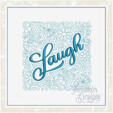 T1390 Laugh Quilt Block