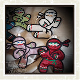 T1561 Ninjabread Men Ornaments