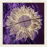 T1640 Four Panel Sunflower