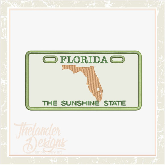 T1746 Florida License Plate