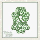 T1749 Shamrock Door Hanger