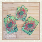 T1702 Sunflower Card Holder Bundle