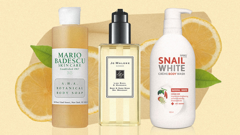 7 Citrusy Body Washes That Will Give You an Instant Mood Boost