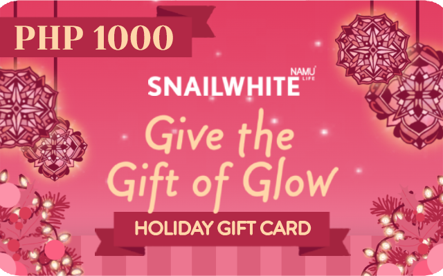 SNAILWHITE Holiday Gift Card (P1,000)