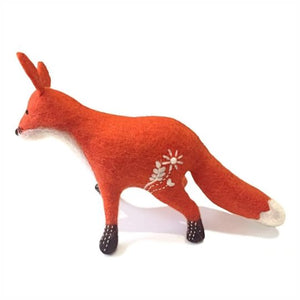 Felted Baby Fox