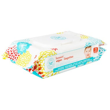 Honest Wipes - 72 Pack