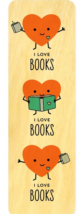 Happy Hearts Bookmark