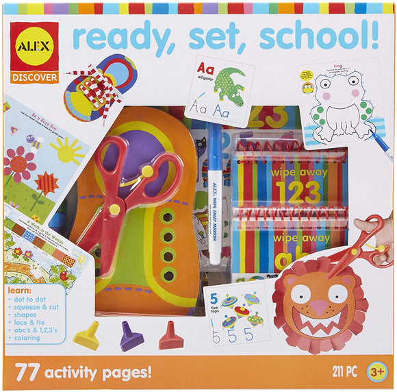 Alex Ready, Set, School Activity Box