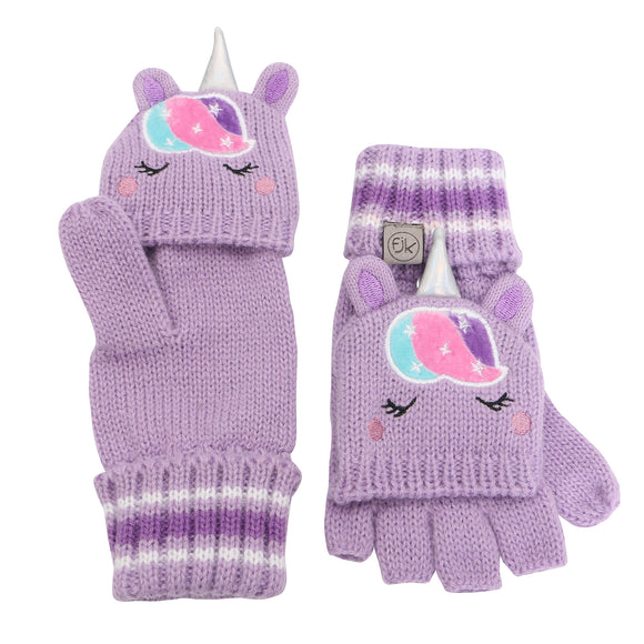 Unicorn Fingerless Gloves