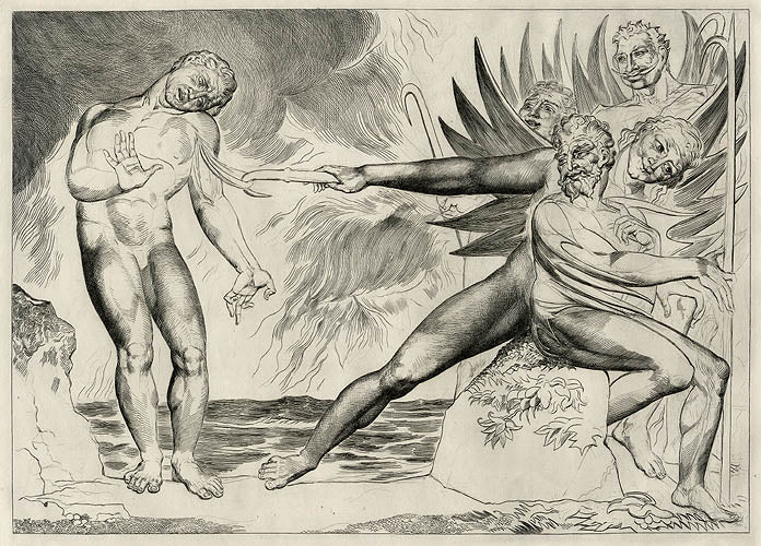 Ciampolo tormented by the Devils