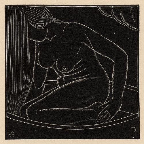 Girl in the Bath II