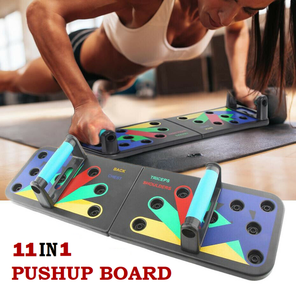 11 in 1 PUSHUP BOARD SYSTEM