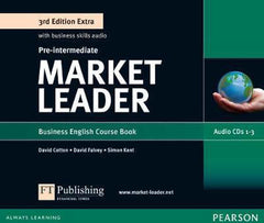 Market Leader Extra 3rd edition - Pre-intermediate class CDs