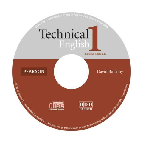 Technical English - Elementary 1 student's book audio-cd