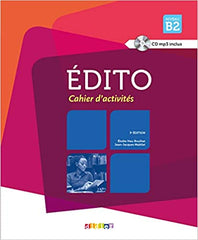 Édito B2 - 3e édition cahier d'exercices + CD mp3