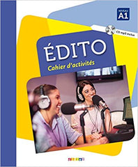 Édito A1 - édition 2016 cahier + CD mp3