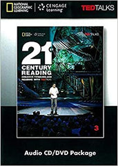 21 Century reading with Ted 3 Audio CD/DVD