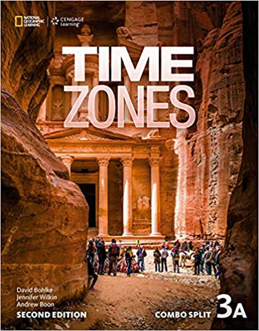 Time Zones - second edition 3A combo split with online workbook