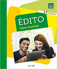 Édito A2 - édition 2016 cahier + CD mp3
