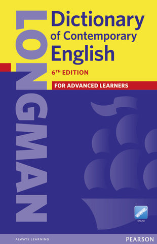 Longman Dictionary of Contemporary English cased + online access