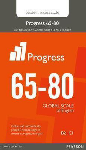 Progress 65-80 (Global Scale of English) student printed access card