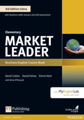 Market Leader Extra 3rd edition - Elementary coursebook + DVD + MyEnglishLab access pack