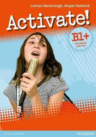 Activate! B1+ workbook with key + cd-rom