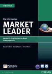Market Leader 3rd edition - Pre-intermediate coursebook + DVD + MyEnglishLab access pack