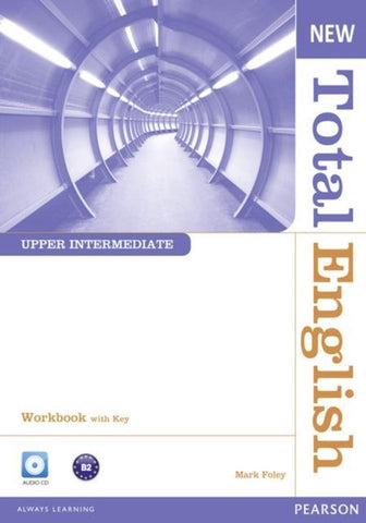 Total English New - Upper-intermediate workbook with key + cd pack