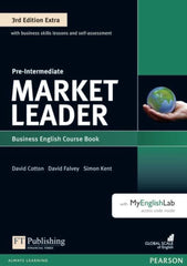 Market Leader Extra 3rd edition - Pre-intermediate coursebook + DVD + MyEnglishLab access pack