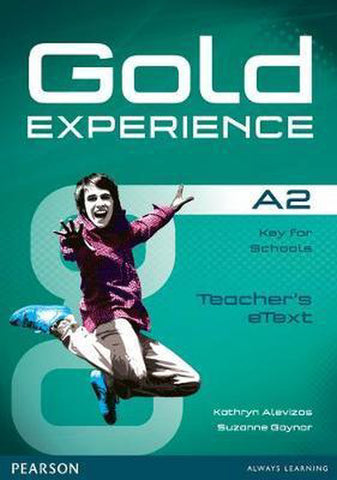 Gold Experience A2 teacher's etext CD-ROM