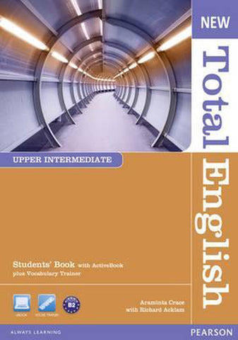 Total English New - Upper-intermediate student's + active book pack + cd-rom