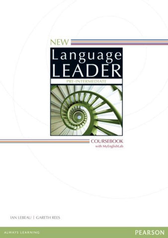 New Language Leader - Pre-intermediate coursebook + MyEnglishLab access
