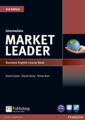 Market Leader 3rd edition - Intermediate coursebook + dvd-rom pack