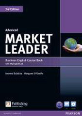 Market Leader 3rd edition - Advanced coursebook + DVD + MyEnglishLab access pack