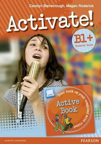Activate! B!+ student's book and active book pack