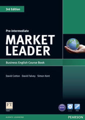 Market Leader 3rd edition - Pre-intermediate coursebook + dvd-rom pack