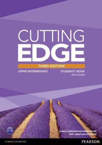 Cutting Edge third edition - Upper-intermediate student's book + dvd-rom pack