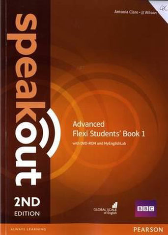 Speakout - Advanced second edition Flexi student's book + myEnglishLab