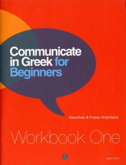 Communicate in Greek for Beginners Workbook